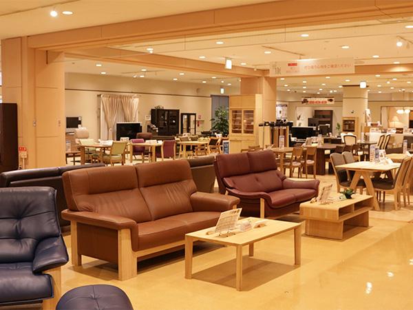 カリモク家具 新横浜ショールーム